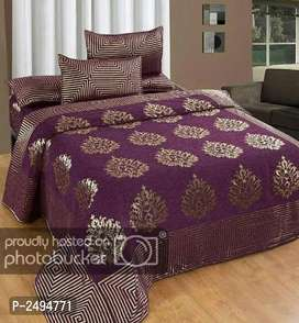 Chenile Bedsheets set cod available.