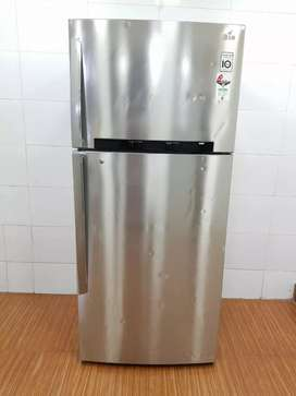 LG 420 litres refrigerator free shipping