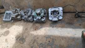 Yamaha Rx 135 and 100 bores