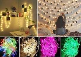 Lampu tumbrl hias ruangan panjang 10m