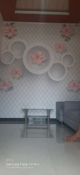 Jasa pemasangan wallpaer dinding & vinyl lantai