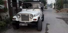 Thar with vip numbe all original 5 off roading rims with new tyres