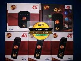 Jazz wifi Wingle unlock 4g all sim use kry cash on delivery all city