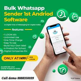 *Bulk WhatsApp sender Advertisement marketing software