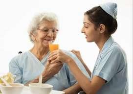 Part time caretaker/nurse required