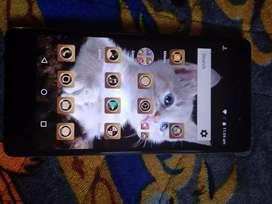 A Micromax E481 smart phone in good condition