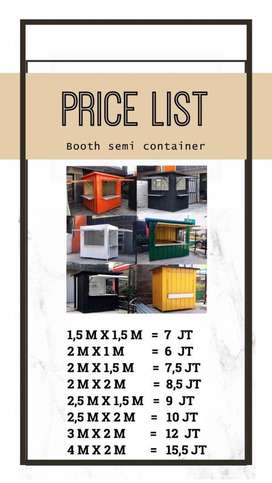 booth Container Super Murah