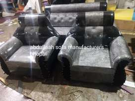 Newly made luxury coverd sofa 5 seater direct from manufacturers