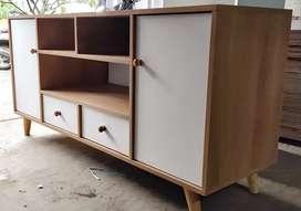 Meja tv minimalis custom order