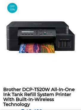 Brother 520 printer with wifi