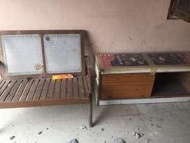 2 sofa wooden standard quality