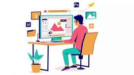 Graphics designer internee Required in Arfa tower lahore
