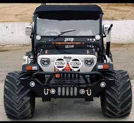Modified Hunter Jeep ready on order and home delivery