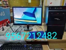 "Editing or Gaming Intel i5 CPU/8Gb Ram/19""Monitor"