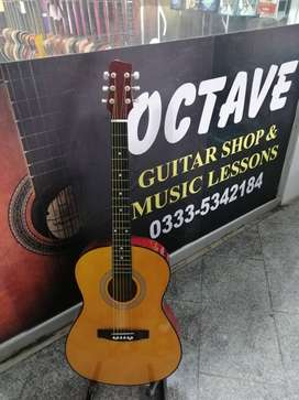 """Acoustic Guitar 39"""" with trussrod Natural Color"""