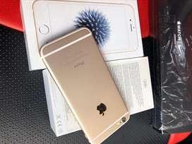 iphone 6 32gb gold ex garansi iBox