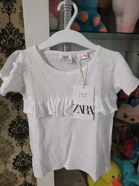 Kaos Anak Merk Zara Murah