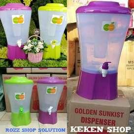 Dispenser golden sunkist