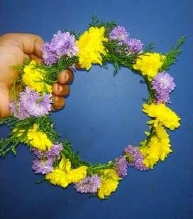 Mehandi,tattoo artist & Fresh floral crown &floral  jewellery,nail art