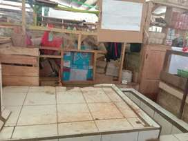 Disewakan los pasar jonggol