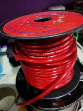Kabel power 8 awg readystock