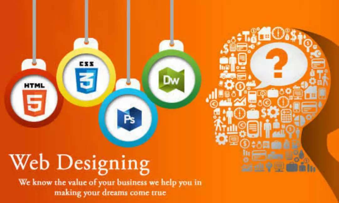 We are web designers