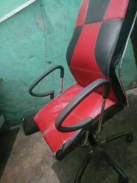 Red & Black wheel Chair