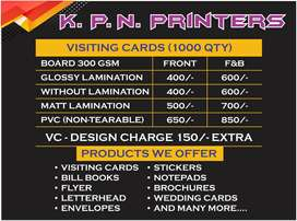VISITING CARD / BUSINESS CARD