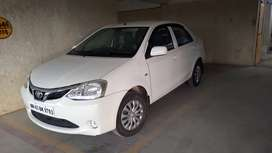 Toyota Etios G petrol 2018 model first owner less than 15k driven