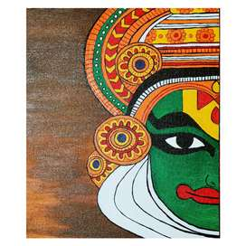 Canvas painting | Kathakali