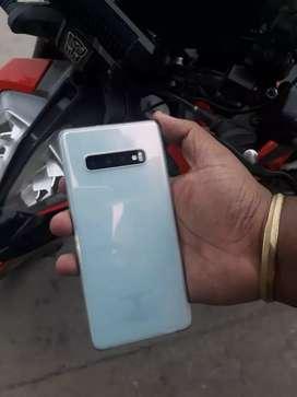 Samsung S10 plus  white 128gb 8gb