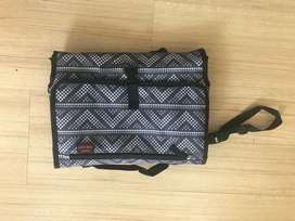 Travel diaper change purse