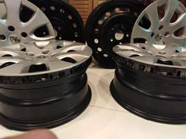 Rims and wheel caps 16 inch size