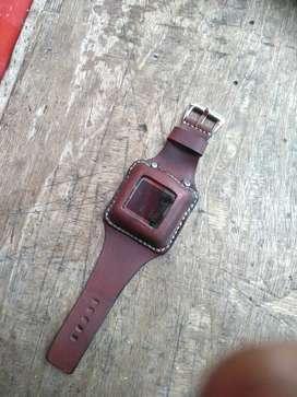 Strap -tali jam tangan kulit