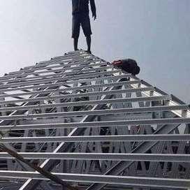 ahli konstruksi & pemasangan atap baja ringan,harga sesuai spesifikasi