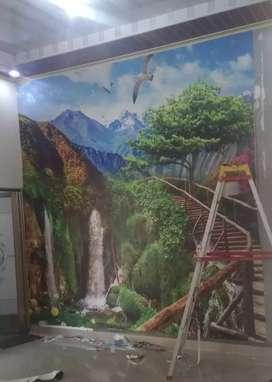 Wallpaper pemandangan