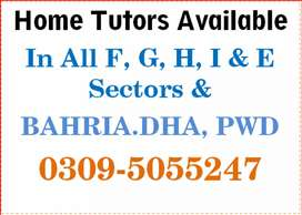 Best Tutors available (For Home Tuitions /Online Tuitions in all ISB)