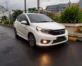 Honda All New Brio 1.2 RS AT Putih 2019 2020 tt jazz yaris crv hrv brv