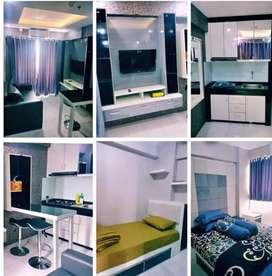 Disewakan unit apartemen grand Pramuka 2kamar/studio free WiFi