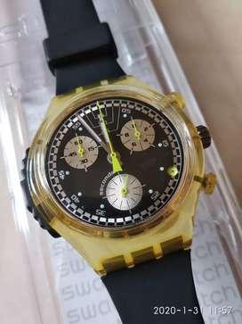 Swatch Ramoneur Chrono Alarm SOK400 1999 Original