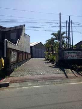 jual tanah bonus rumah, mantra residence, rp. 575.000.000 per are nego