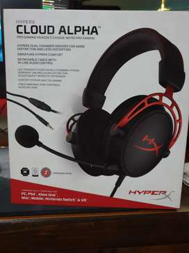Sealed packed HyperX Cloud Alpha Pro Gaming Headset