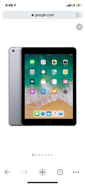 Want to sell box pack ipad 6th gen. SilveR colour 33 GB