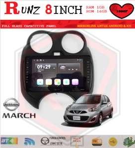 HEAD UNIT RUNZ LAYAR 8INCH 1GB-16GB MARCH 2010