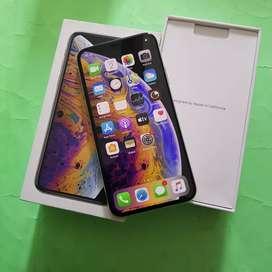 Iphone XS 256gb silver exs inter original