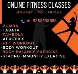 Online zumba workout and dance class.. 2 free trails class