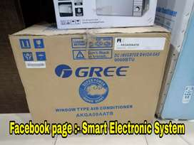 Brand new window AC gree skywood super general availble 0.75 ton/1 ton