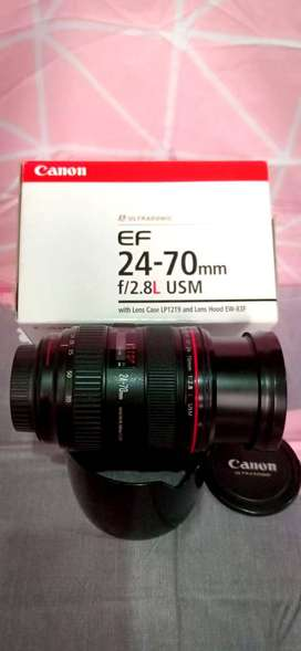 Canon 24-70 f/2.8 L USM Lens for Sale in lahore best conditions