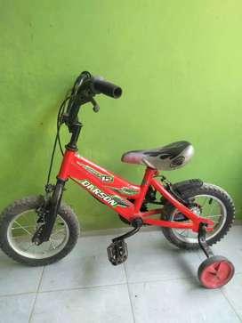 Sepeda anak ukuran 12 untuk 3-5thn