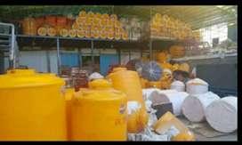 Tandon air 5000 liter harga 5.6juta Sragen bahan plastik